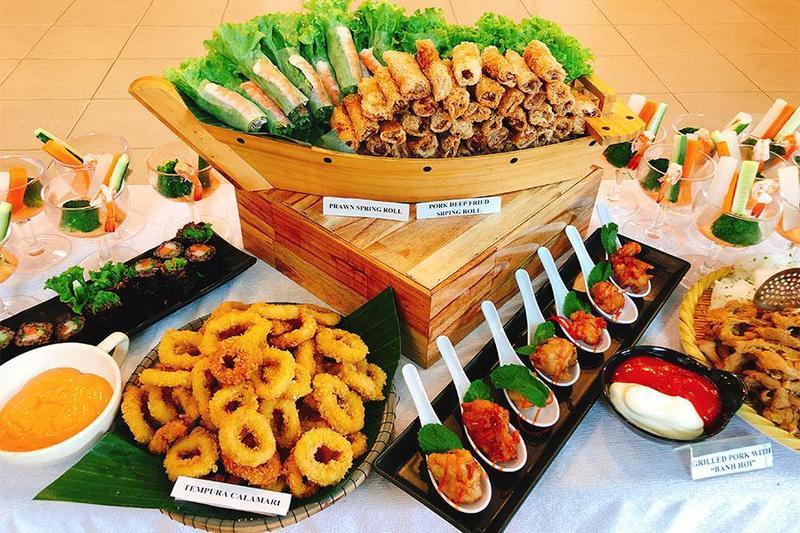 Nấu tiệc vip tại nhà với thực đơn tiệc buffet siêu hấp dẫn