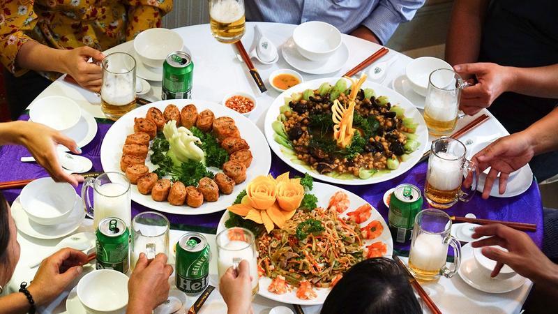 Hài lòng tuyệt đối với dịch vụ đặt tiệc lưu động Hai Thụy catering